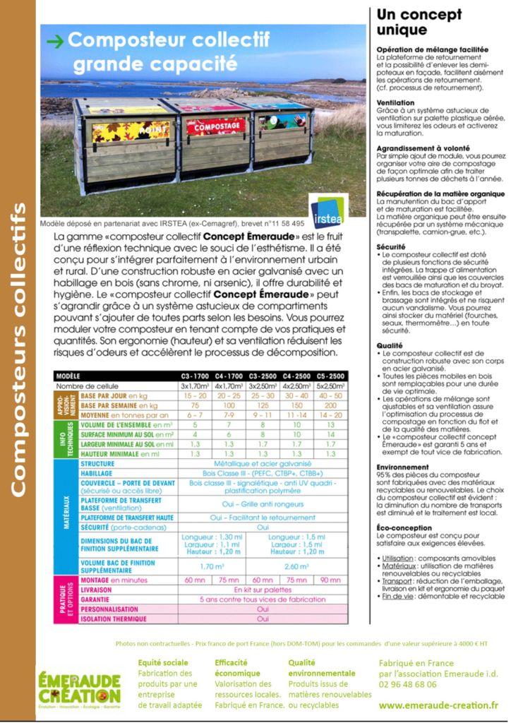 thumbnail of Composteur grande capacité boutique