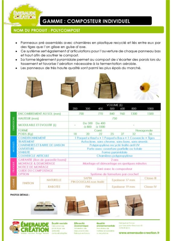 thumbnail of POLY COMPOST INDIVIDUEL boutique